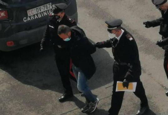 Giuseppe Iacomino, 43 anni, fermato dai carabinieri di Montegabbione (Terni)