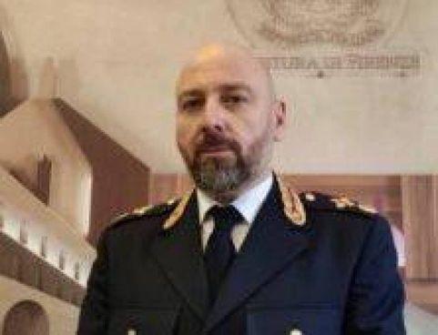 Il responsabile della squadra Mobile Andrea Di Giannantonio