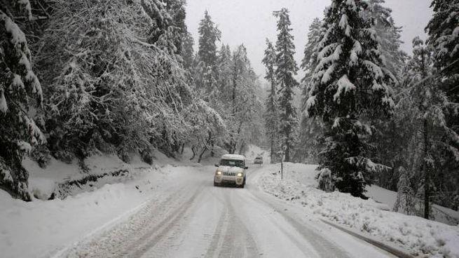 Meteo, torna l'inverno e la neve (Ansa)