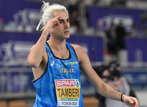 Gianmarco Tamberi, 28 anni,. primatista italiano dell'alto e neo argento europeo