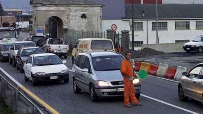 Traffico a Morbegno