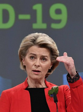 Ursula. von der Leyen, presidente della Commissione europea, ha. 62 anni