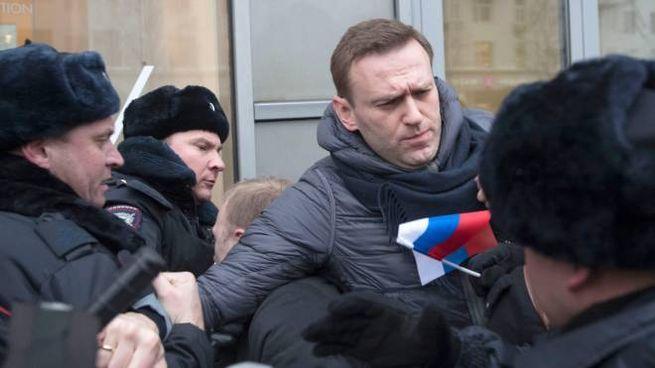 L'arresto di Aleksej Navalny, 44 anni, tra i principali oppositori di Putin