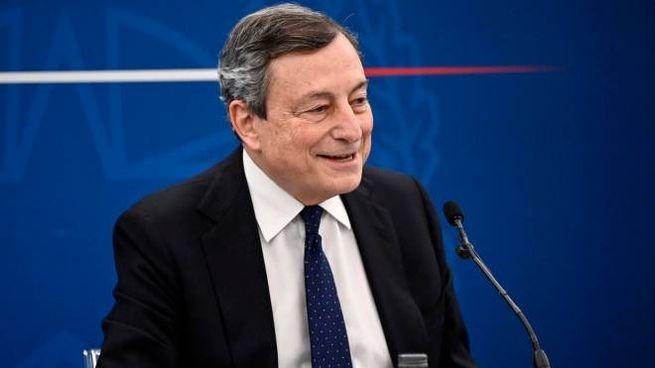 Decreto Sostegno: la conferenza stampa di Draghi (Ansa)