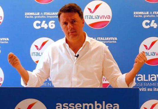 Il leader di Italia Viva, Matteo Renzi, 46 anni