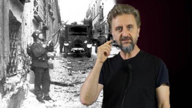 Ascanio Celestini e l'attentato di via Rasella