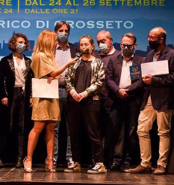 Un momento delle premiazioni della scorsa edizione di «Hexagon Film Festival»