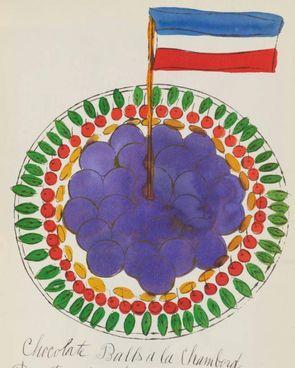 """Una ricetta illustrata da Warhol nel libretto """"Wild Raspberries"""" ora all'asta"""