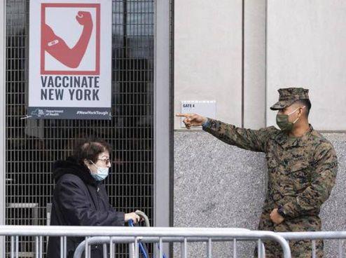 Nelle Marche i primi. casi della. variante che a New York rappresenta il 12% dei contagi