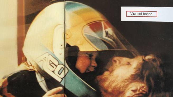 Valentino Rossi con papà Graziano