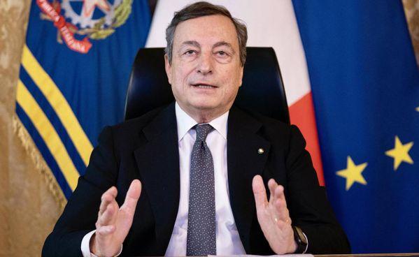Il presidente del Consiglio Mario Draghi, 73 anni