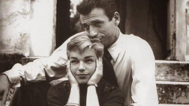 Yves Montand con Simone Signoret