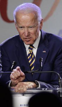 Il presidente degli Stati Uniti, Joe Biden 78 anni