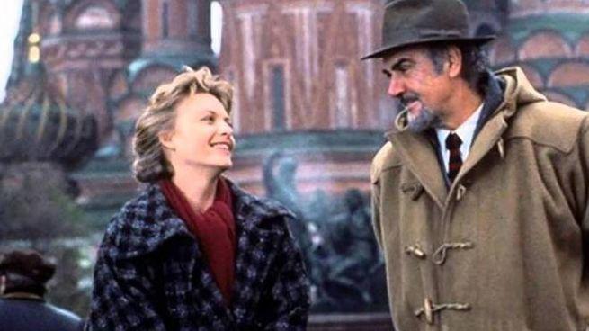 La casa Russia, film del 1990. Nella foto, Sean Connery con Michelle Pfeiffer