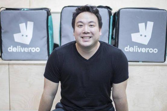 Will Shu, 39enne americano, è co-fondatore e ceo di Deliveroo. Ieri si è detto «molto orgoglioso» della quotazione a Londra