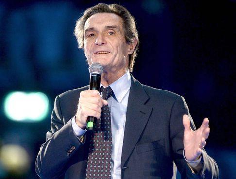 Attilio Fontana, 69 anni, presidente della Regione Lombardia dal 2018