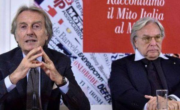 Luca Cordero di Montezemolo, 73 anni, e il 67enne Diego Della Valle hanno donato i caschi a diversi ospedali