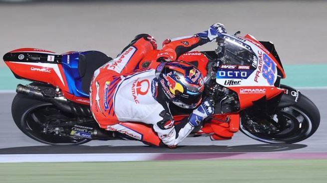 Jorge Martin su Ducati Pramac (Ansa)