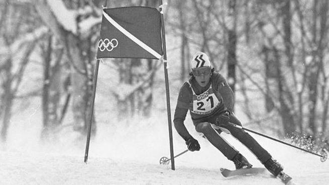Roland Thoeni alle Olimpiadi Invernali di Sapporo 1972 (Ansa)