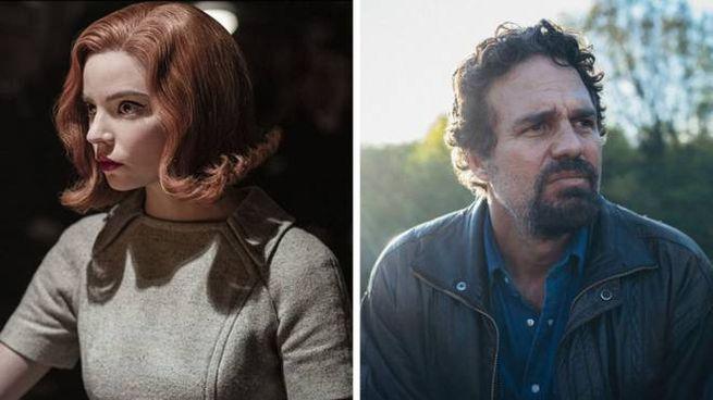 Anya Taylor-Joy e Mark Ruffalo - Foto: Netflix/Willi Hill/FilmNation/Hunting Lane
