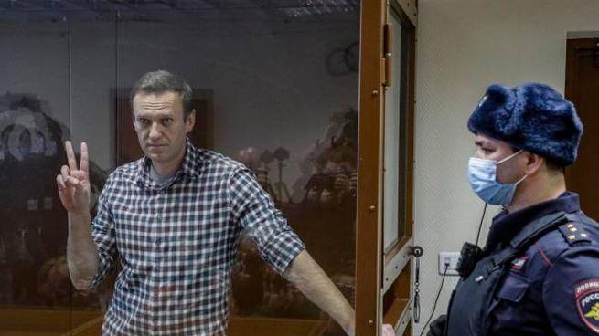 L'oppositore russo Alexei Navalny nell'ultimo processo
