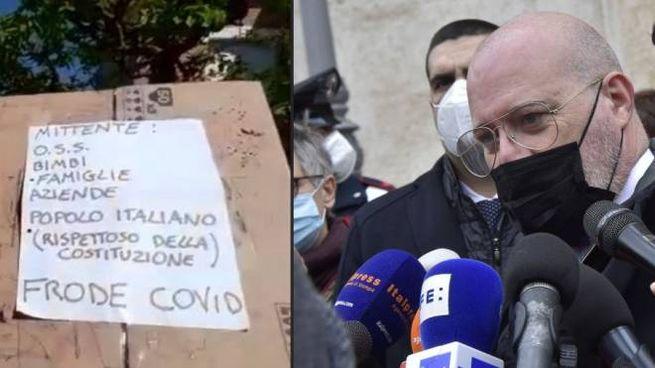 Un pacco sospetto è stato recapitato a casa del Governatore Stefano Bonaccini (ImagoE)
