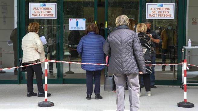 Vaccinazioni a Empoli (foto Tommaso Gasperini/Germogli)