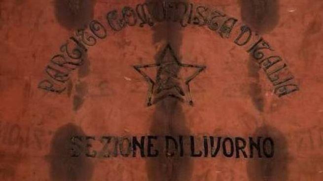 La prima bandiera del Partito comunista d'Italia