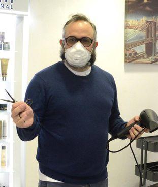 Matteo Ancarani, rappresentante dei saloni di acconciatura associati a Cna Grosseto