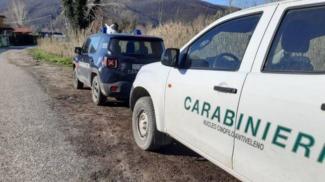 Carabinieri forestali a Ponzano Magra