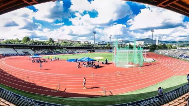 L'Asics Firenze Marathon stadium