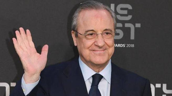 Florentino Pérez, 74 anni, ceo di Acs e patron del Real Madrid