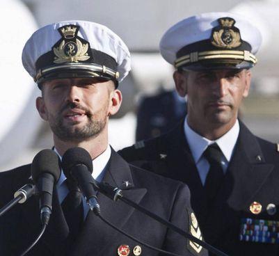 I fucilieri della Marina italiana Massimiliano Latorre, 54 anni e Salvatore Girone, 43 anni