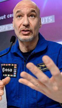 Luca Parmitano, 45 anni a settembre, è originario di Paternò