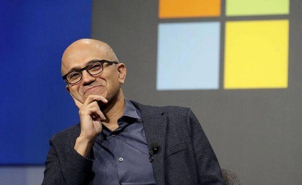 Satya Nadella, 53 anni, è amministratore delegato di Microsoft dal 4 febbraio 2014