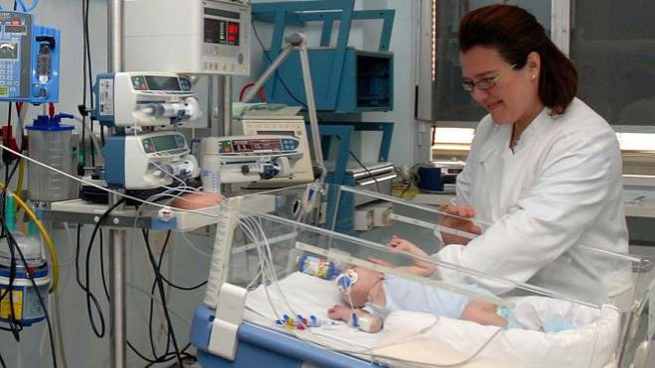 Un reparto di Maternità