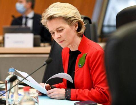 La presidente della Commissione europea, la tedesca Ursola von der Leyen: sposata con due figli, ha 62 anni ed è del Ppe