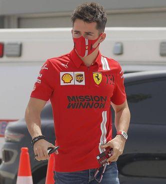 Charles Leclerc, 23 anni, pilota Ferrari. Nel riquadro, Paolo Barilla (59) vicepresidente dell'azienda di famiglia ed ex pilota anche di F1: ha vinto una 24 Ore di Le Mans