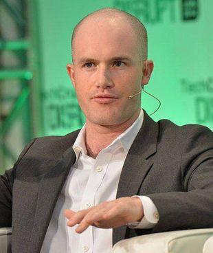 Brian Armstrong, 38 anni, è ceo della società di criptovalute Coinbase, fondata nel 2012