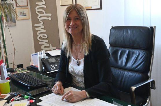 Il sindaco di Castel Maggiore Belinda Gottardi