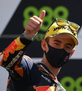 'Pecco' Bagnaia, 24 anni, è ora 2° nel Mondiale con la Ducati (foto ducaticorse)