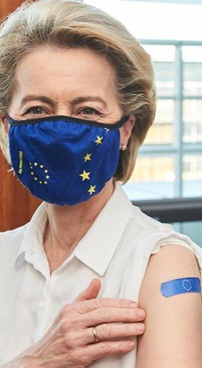 La presidente della Commissione Ue, Ursula von der Leyen, 62 anni