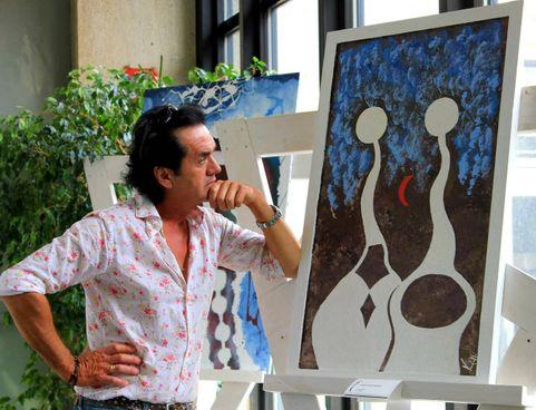 Marcello Vandelli. vive e lavora a Camposanto
