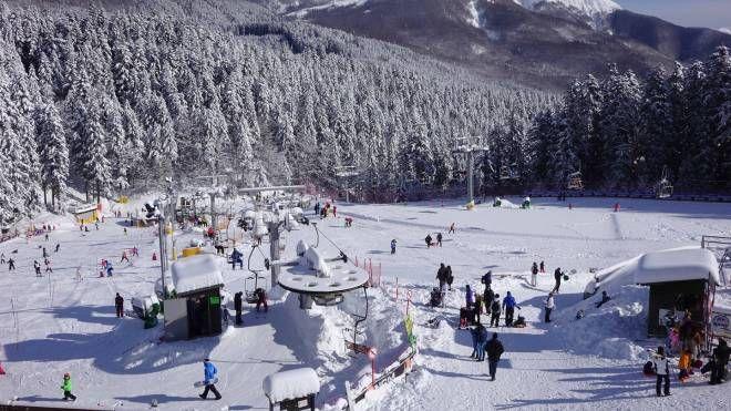 Neve all'Abetone (foto Castellani)