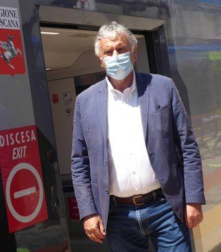 Vincenzo Ceccarelli, ex assessore regionale ai trasporti e adesso capogruppo del Pd
