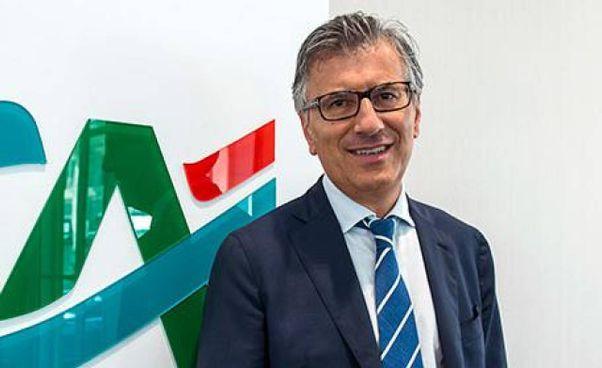 Giampiero Maioli, 64 anni, è l'ad di Crédit Agricole Italia