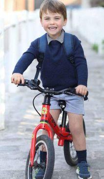 Louis, 3 anni, è il terzogenito di William e Kate Middleton