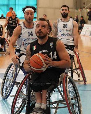 Domenico Miceli, guardia play della Santo Stefano Avis Porto Potenza