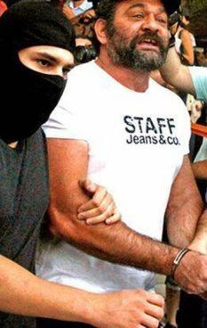 L'arresto di Giannis Lagos, 48 anni