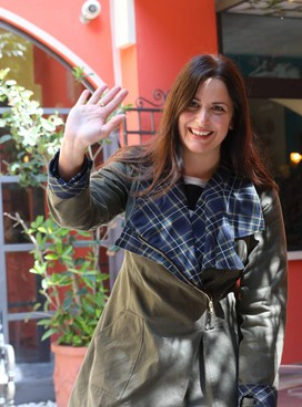Isabella Conti, classe 1982, è in campo per Bologna: correrà alle primarie